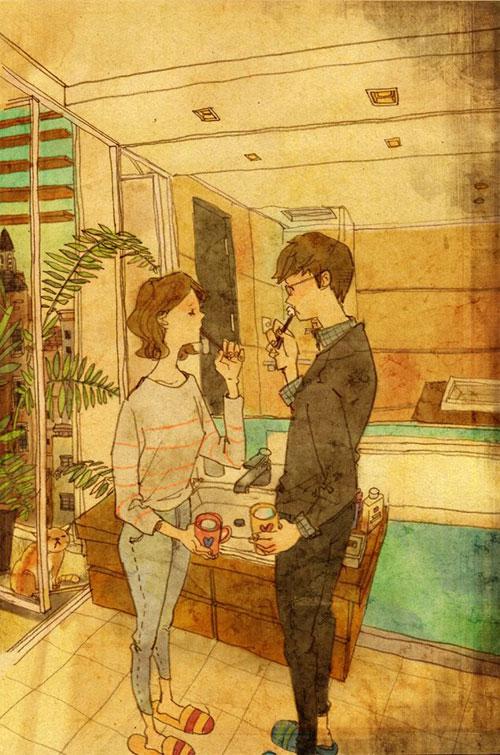 Artist Puuung illustrates What Real Love Looks Like (5)