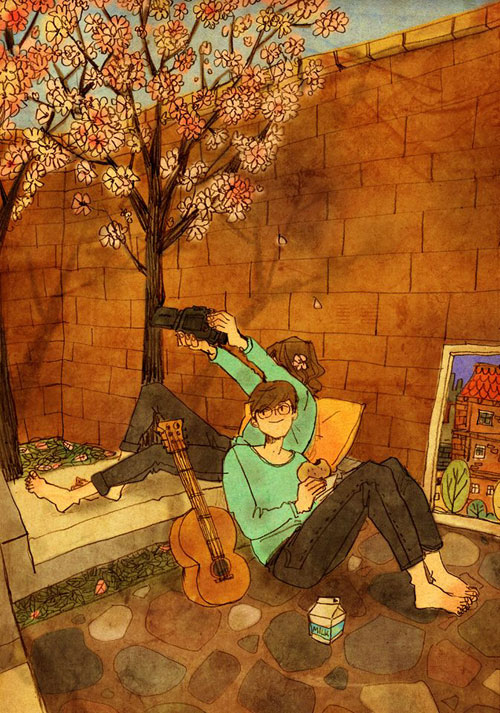 Artist Puuung illustrates What Real Love Looks Like (9)