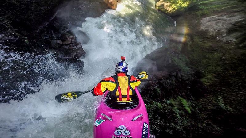 Chasing Waterfalls with a ProKayaker