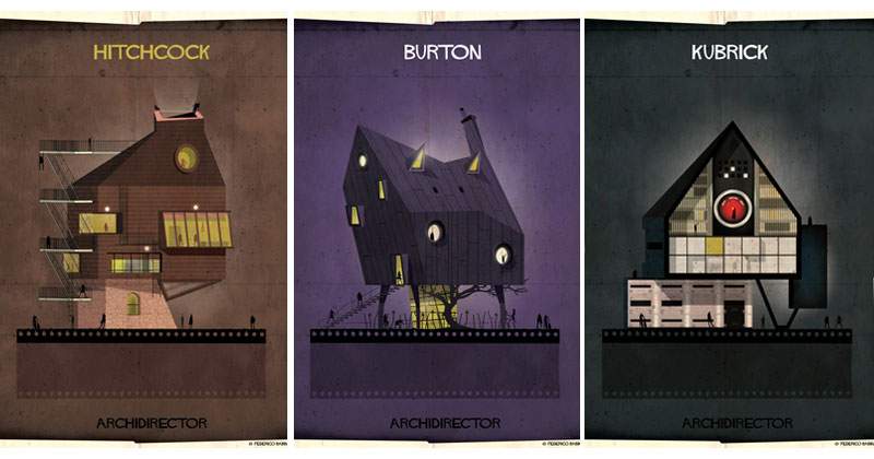 Artist Imagines Architecture in the Film Style of Famous Directors