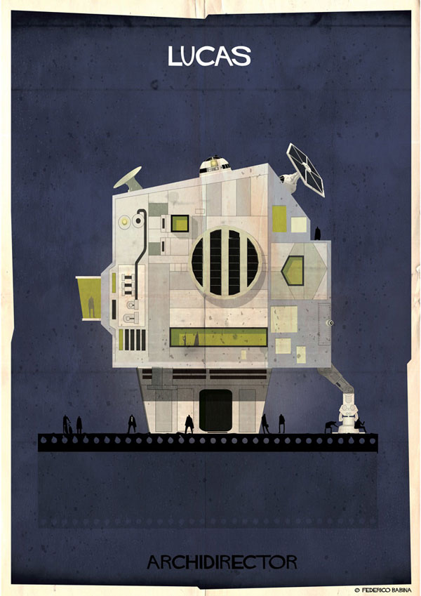 Federico Babina Imagines Architecture in the Film Style of Famous Directors (2)