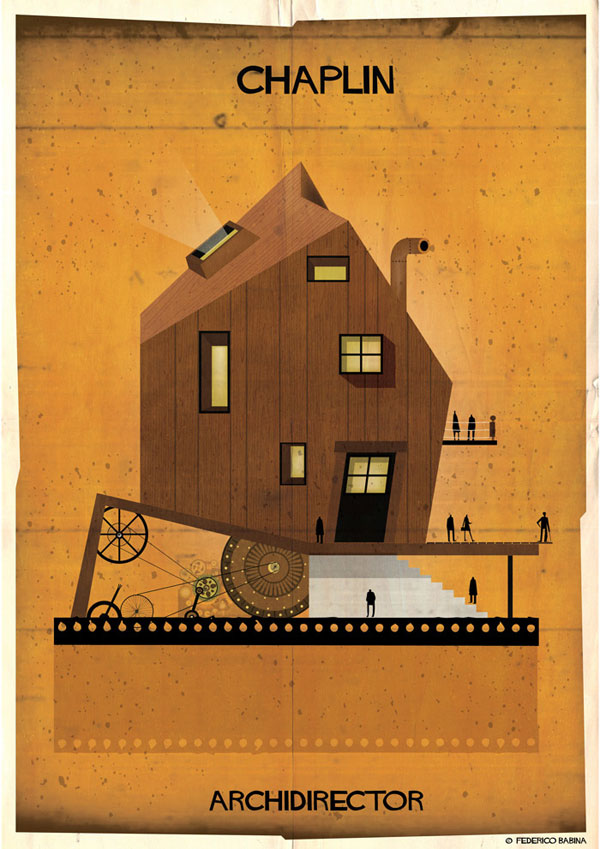 Federico Babina Imagines Architecture in the Film Style of Famous Directors (3)