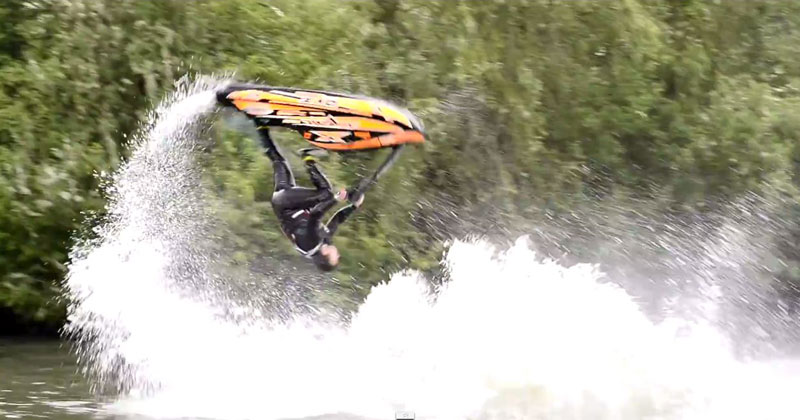 So Freestyle Jet Skiing is a Thing and this Guy is a World Champion