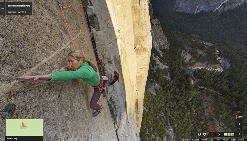 You Can Now Climb Yosemite's Famous El Capitan on Google Maps