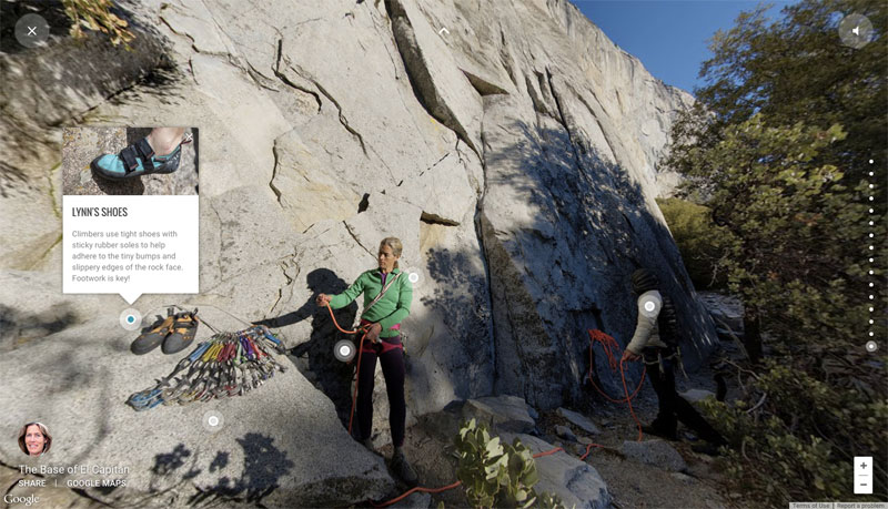 You Can Now Climb Yosemites Famous El Capitan On Google