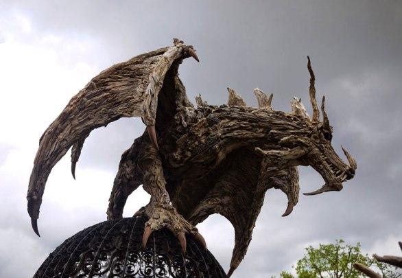 james doran webb driftwood animal sculptures (1)