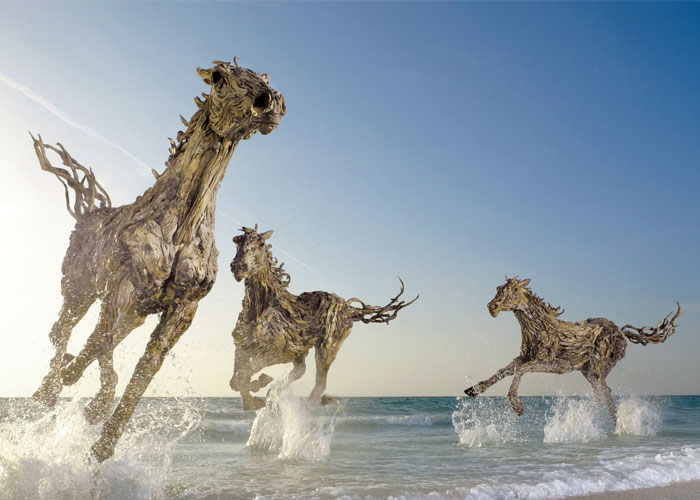 James doran webb makes incredible creatures out of for How to work with driftwood