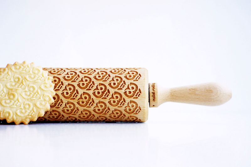 Laser Engraved Rolling Pins Make Delicious Things LookAwesome