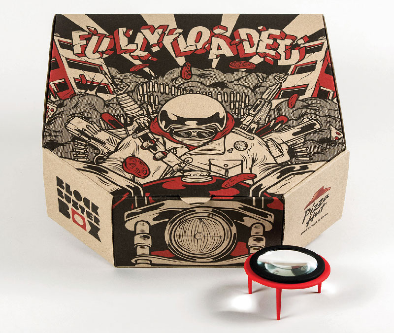 Pizza Box Turns Your Smartphone Into a Movie Projector (4)
