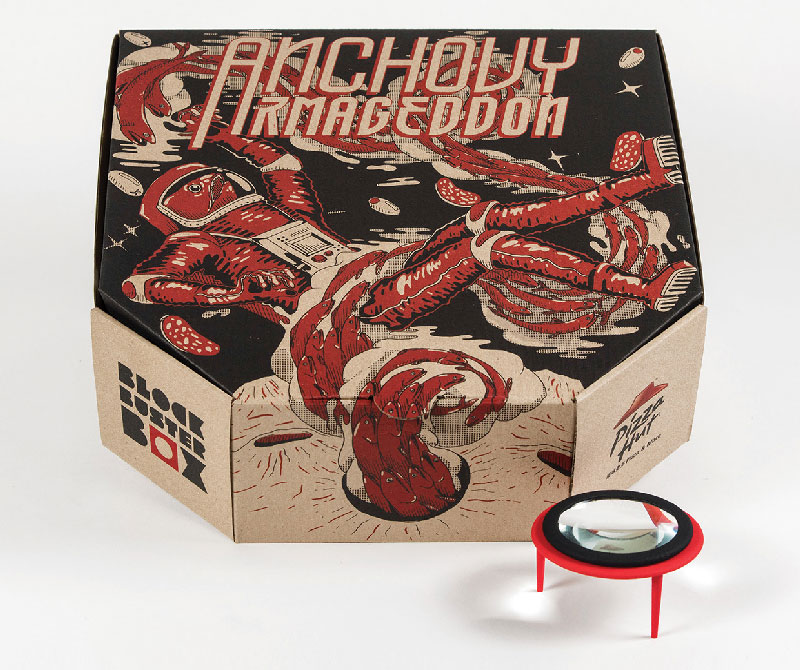 Pizza Box Turns Your Smartphone Into a Movie Projector (5)