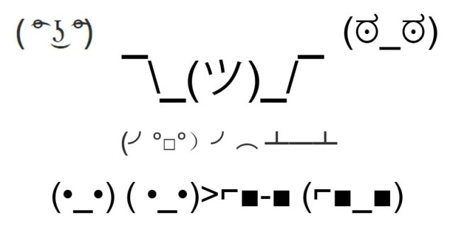 All Of The Best Text Emoticons On A Single Page Twistedsifter