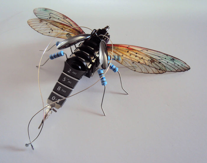 winged insects made from discarded electronics (16)