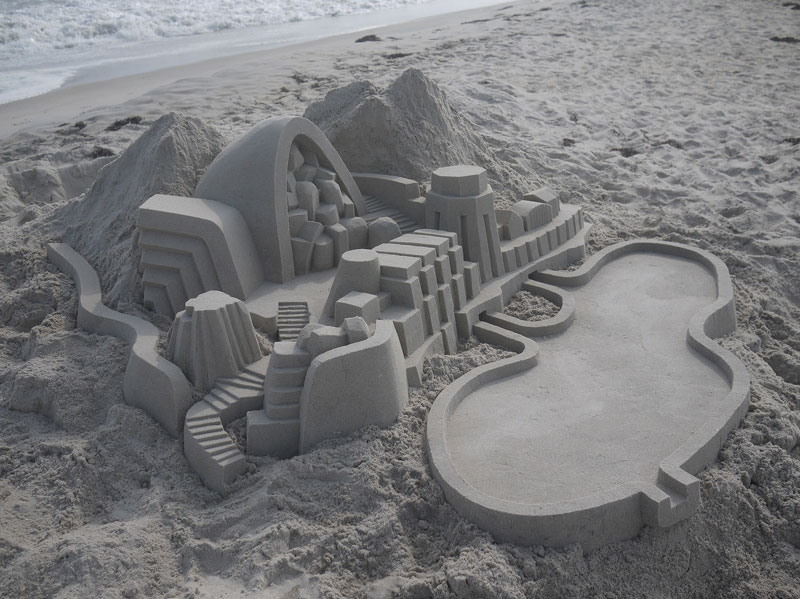 architectural sand castles by calvin seibert (1)