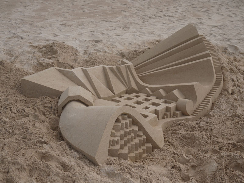 architectural sand castles by calvin seibert (2)