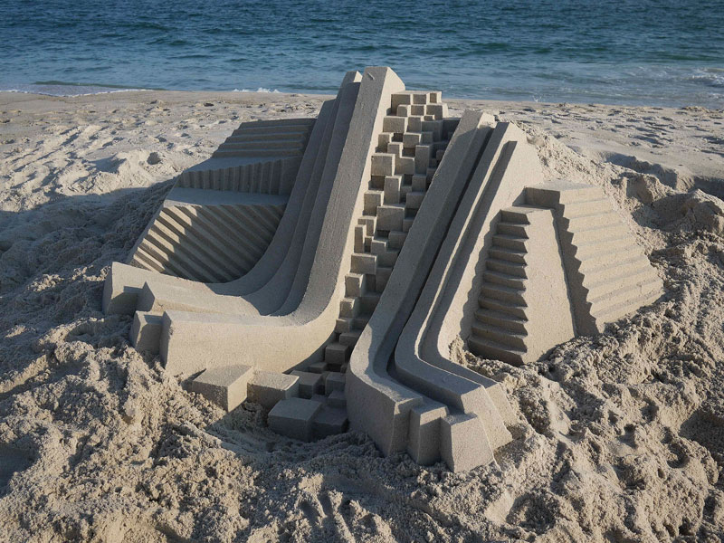 architectural sand castles by calvin seibert (4)
