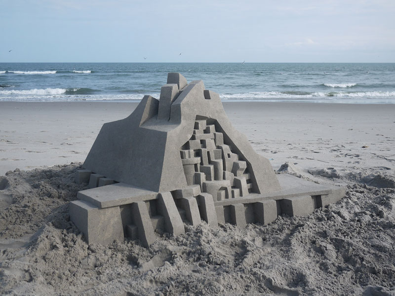 architectural sand castles by calvin seibert (7)