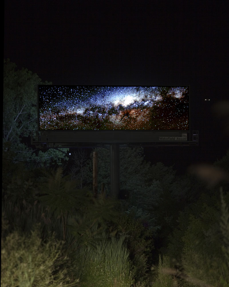 brian kane Buys Digital Billboard Space to Display Nature Photos (6)