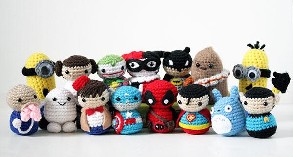 comic-con crochet critters by geeky hooker (13)