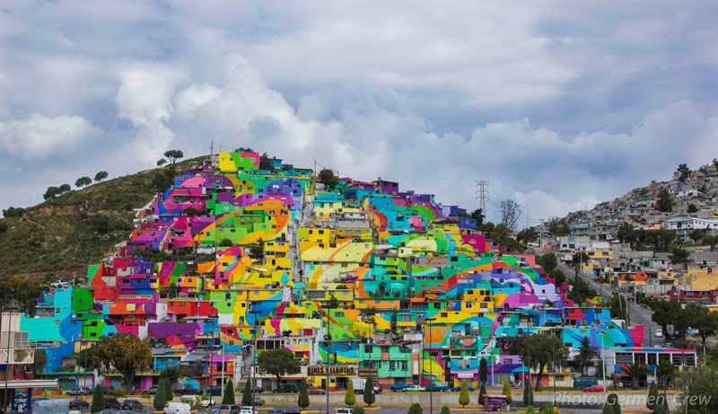 Community Unites Over Street Art Project to Paint houses in their Neighborhood (1)