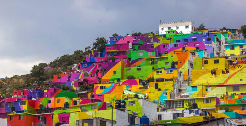 Community Unites Over Street Art Project to Paint houses in their Neighborhood (5)