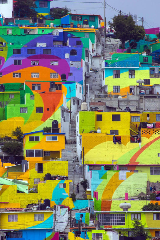 Community Unites Over Street Art Project to Paint houses in their Neighborhood (6)