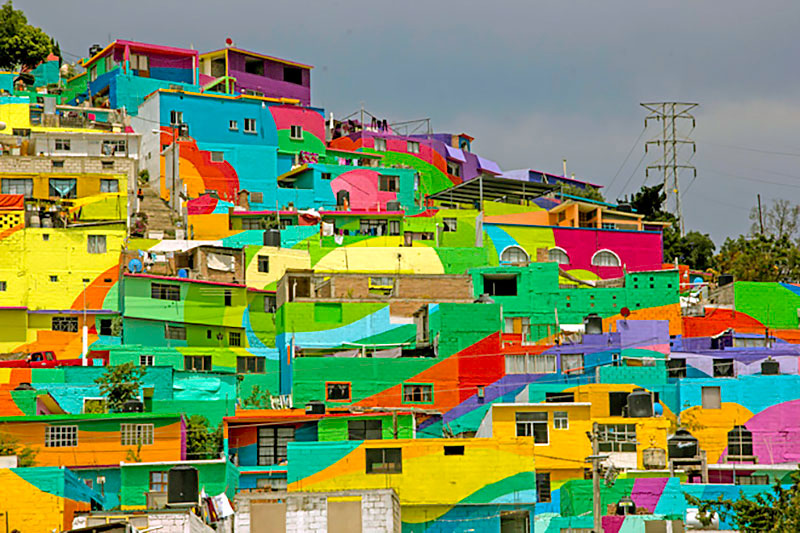 Community Unites Over Street Art Project to Paint houses in their Neighborhood (9)