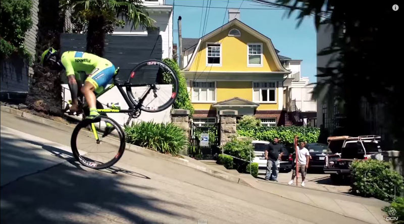Vittorio Brumotti Goes Freestyle Biking with a Road Bike