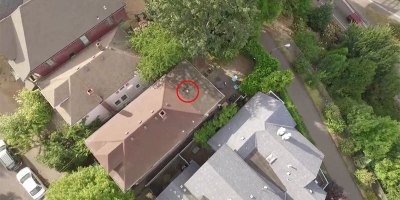 Guy Rescues His Old Drone With His NewDrone