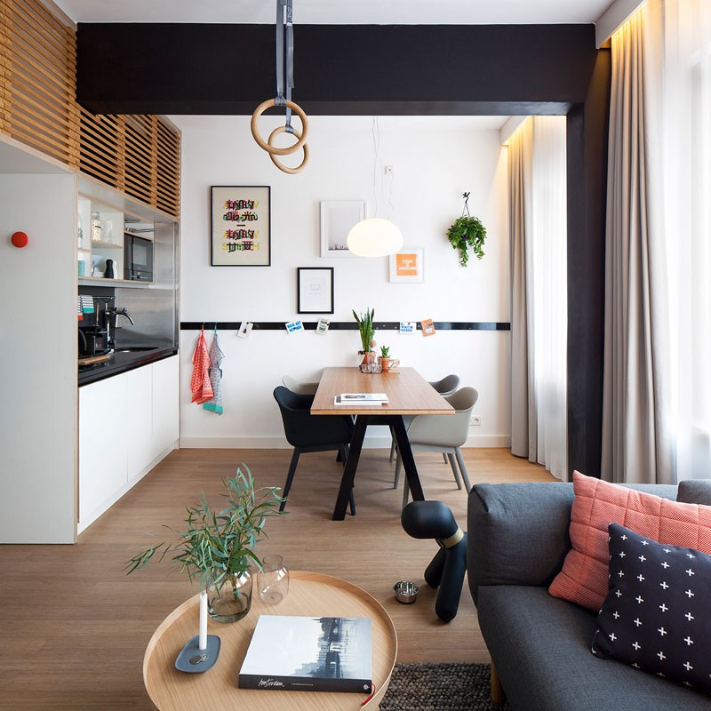 hotel room loft designed for longer stays zoku loft (4)