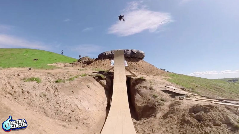 Jed Mildon Lands First Ever BMX Quad Backflip