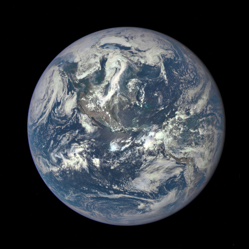 This Photo was Taken 1 Million Miles fromEarth