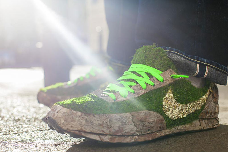 nike shoes made out of plants chrstophe guinet monsieur plant (11)