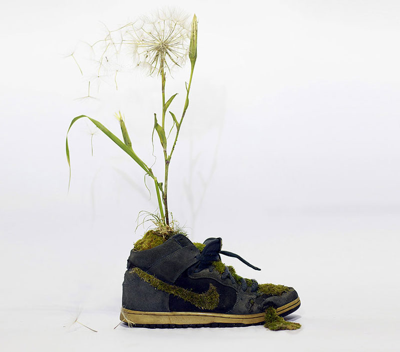 nike shoes made out of plants chrstophe guinet monsieur plant (3)