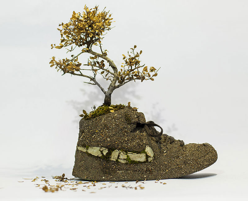 nike shoes made out of plants chrstophe guinet monsieur plant (5)