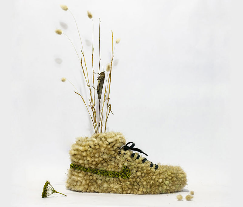nike shoes made out of plants chrstophe guinet monsieur plant (6)