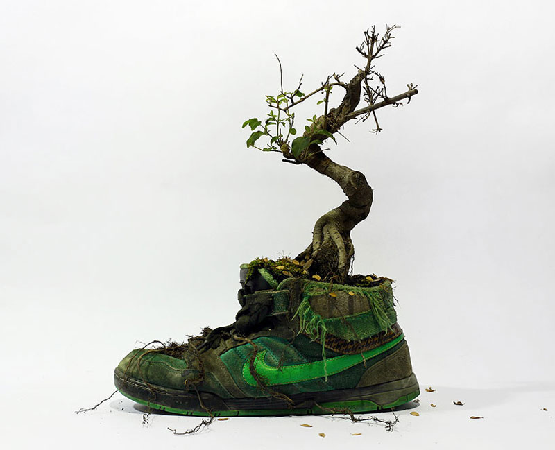 nike shoes made out of plants chrstophe guinet monsieur plant (8)