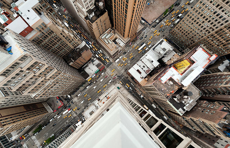 The Streets of New York from Above (10 Photos)