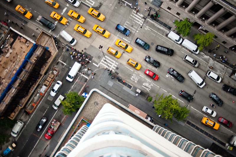 nyc streets from above by navid baraty (10)