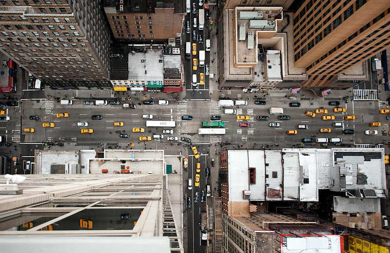 nyc streets from above by navid baraty (9)
