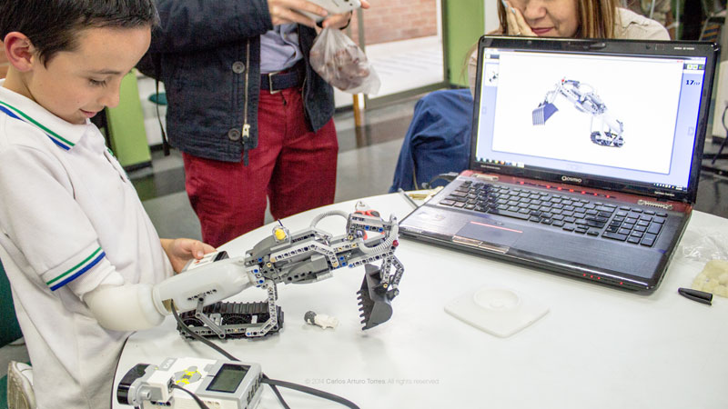 This Prosthetic Arm Lets Kids Build Attachments Out ofLEGO