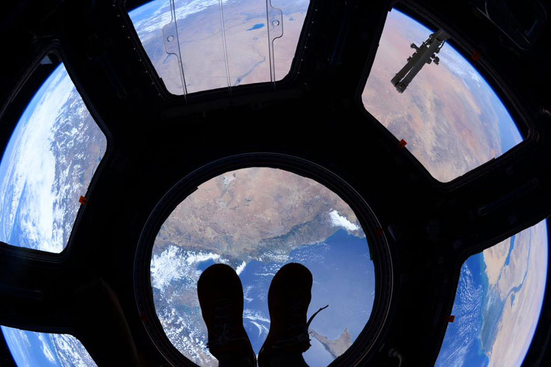standing on top of the world scott kelly iss nasa Picture of the Day: Standing on Top of the World