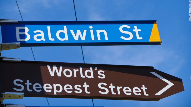 steepest residential street in the world baldwin street dunedin new zealand guiness world record (5)