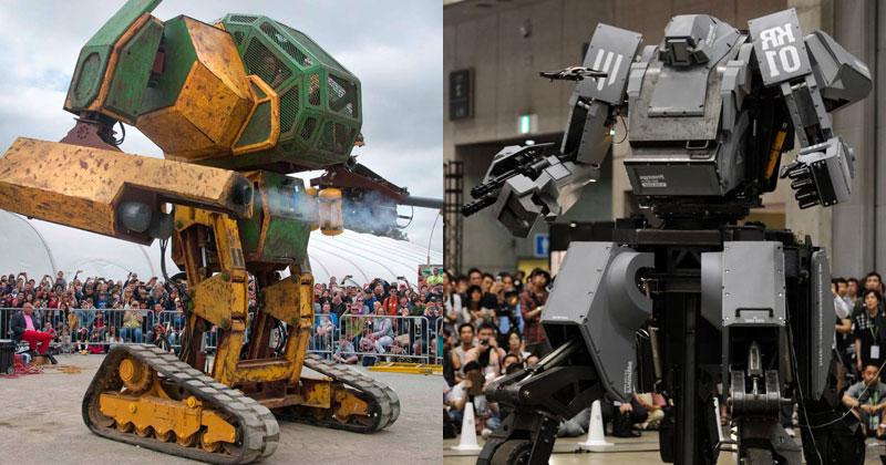 USA Challenges Japan to Giant RobotDuel