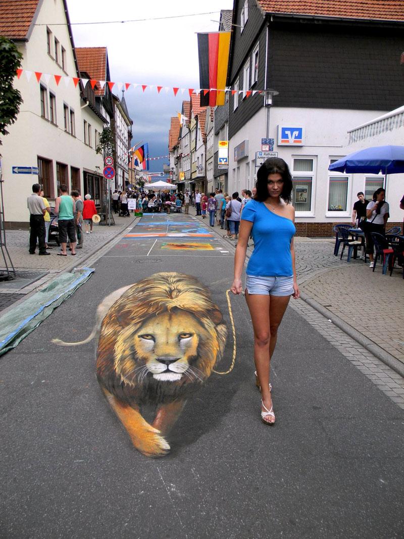 3D Sidewalk Paintings by Nikolaj Arndt (3)
