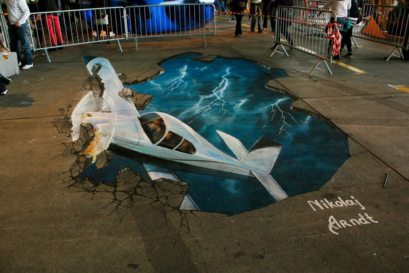3D Sidewalk Paintings by Nikolaj Arndt (5)