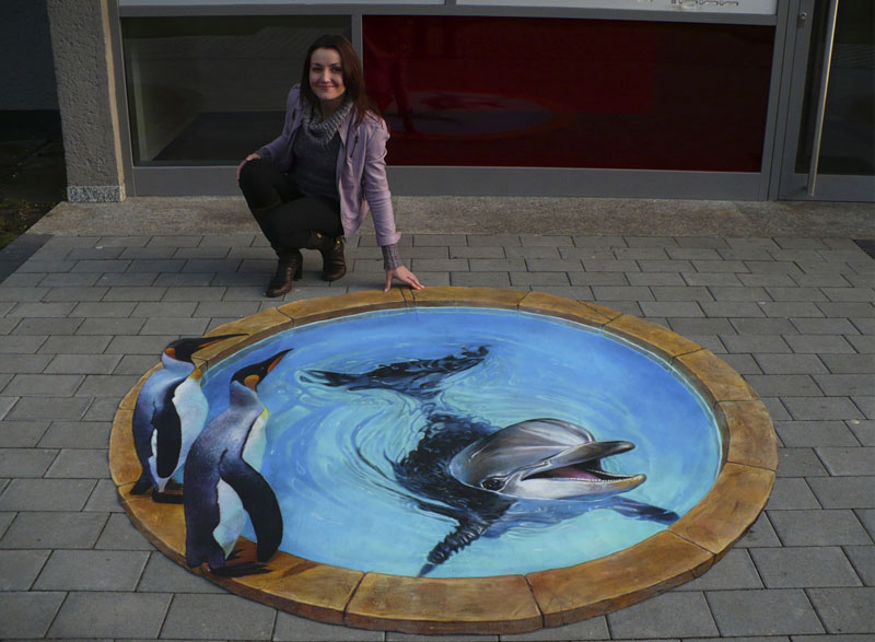 3D Sidewalk Paintings by Nikolaj Arndt (9)