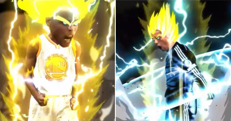 This Artist Animates Athletes Going Super Saiyan and They're Awesome