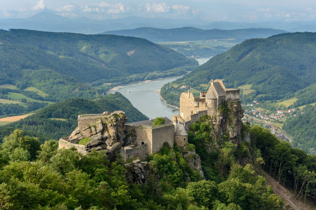 Picture of the Day: Castle Ruins of Aggstein, Wachau, Lower Austria