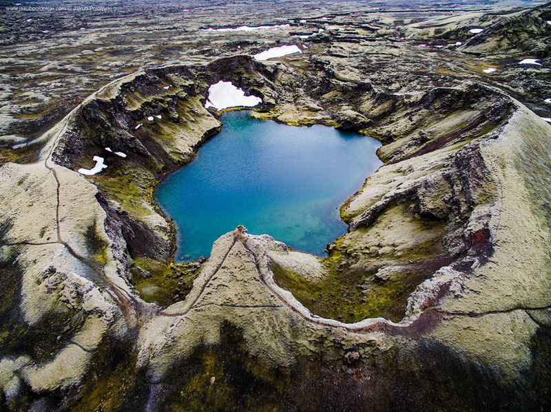 iceland aerial photos by jakob polomski 12 Reuben Wu Explores the Otherworldly Landscapes of East Java