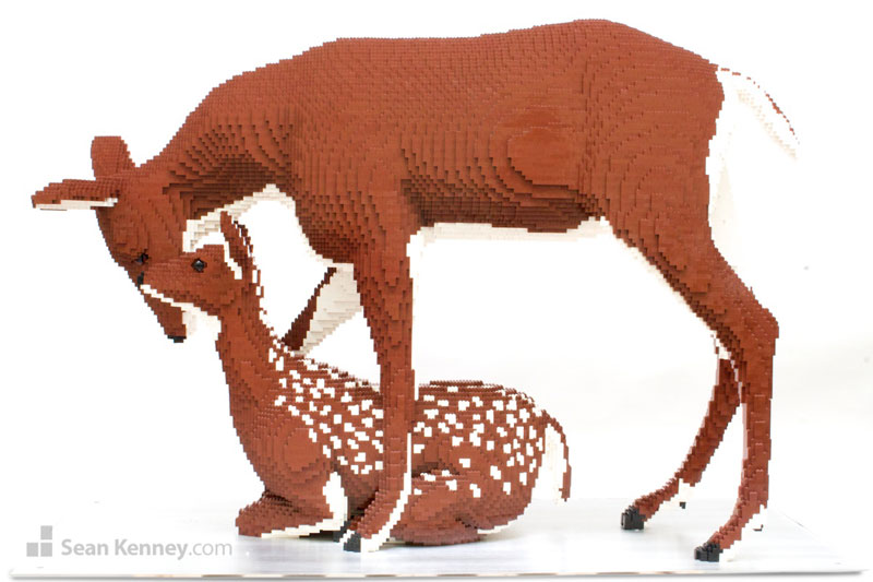 lego animal sculptures by sean kenney (5)